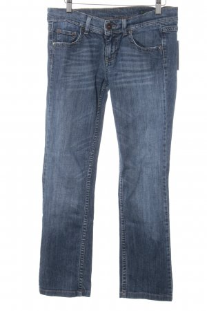 Benetton Straight-Leg Jeans stahlblau Casual-Look
