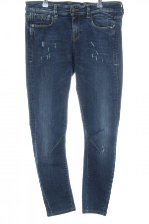 Benetton Stretch Jeans blau Casual-Look