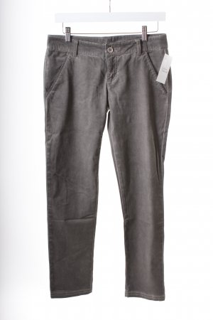 Benetton Stretchhose grau Casual-Look