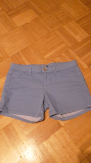Benetton Stretchhose kurz in himmelblau