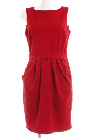 Benetton Stretchkleid rot Casual-Look