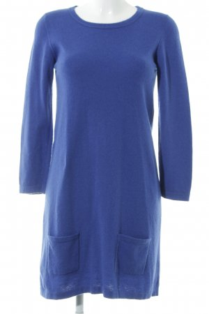 Benetton Strickkleid blau Elegant