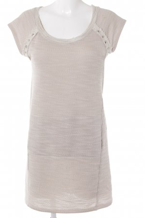 Benetton Strickkleid creme Casual-Look