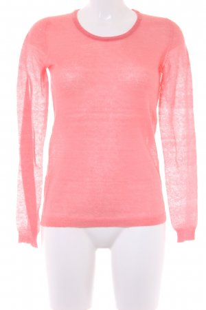 Benetton Strickpullover hellrot Casual-Look