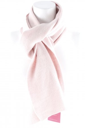 Benetton Knitted Scarf dusky pink casual look