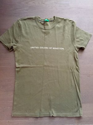 Benetton T- shirt, Gr. S, Khaki