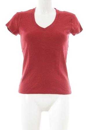 Benetton T-Shirt rot sportlicher Stil
