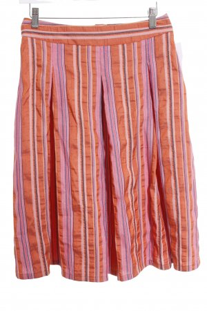 Benetton Circle Skirt striped pattern casual look