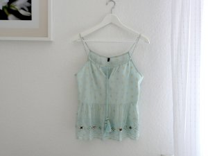 Benetton Top handbestickt
