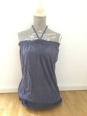 Benetton Top in blau