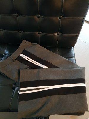Benetton Track Pants,  Bund Hose mit Streifen an der Seiten