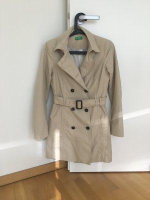 BENETTON Trenchcoat beige