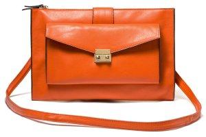 Benetton Umhängetasche in orange
