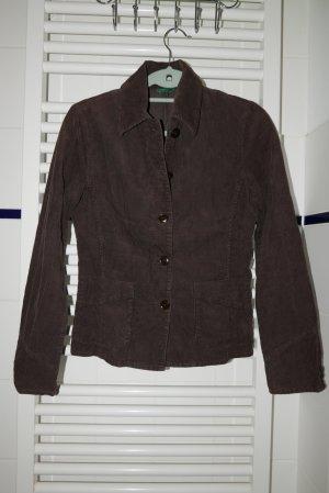 Benetton Vintage 90's Velvet braun Jacket