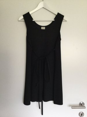 BENETTON Vintage Schwarz Kleid Black Dress S