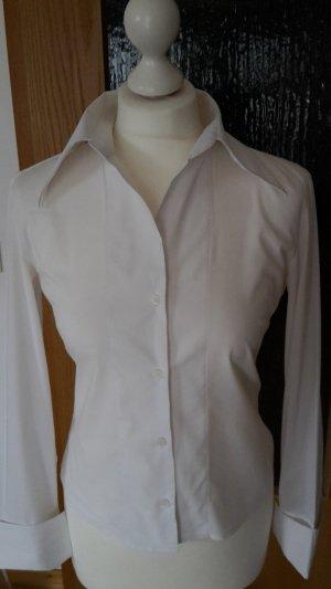 BENETTON weiße Bluse Gr 36 toller Kragen / Ausschnitt