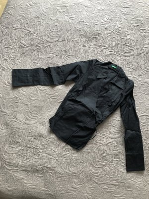 Benetton Wraparound Blouse black