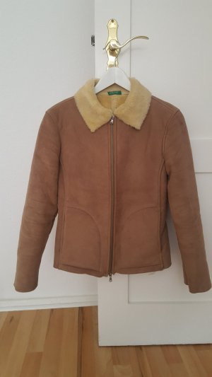 Benetton Veste brun sable