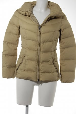 Benetton Winterjacke sandbraun Casual-Look