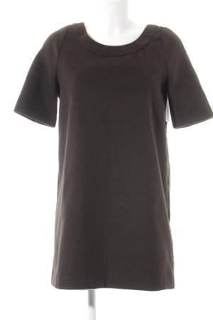 Benetton Woolen Dress dark brown casual look