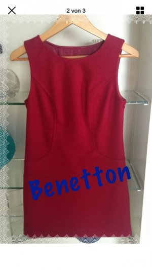 Benetton Wollkleid Größe XS /34 Minikleid