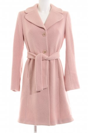 Benetton Wollmantel pink Webmuster Business-Look