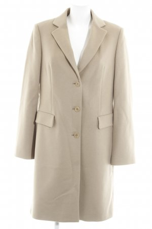 Benetton Wool Coat camel casual look