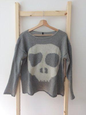 Benetton Wollpullover Skull