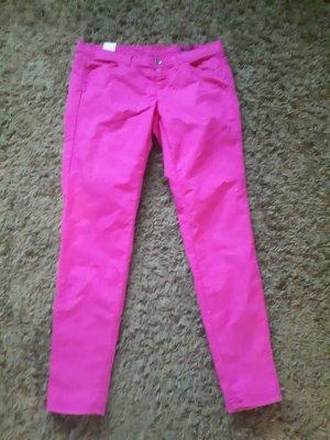 Benetzen 7/8 Hose Skinny  pink w32