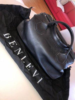 Benlevi Echtledertasche schwarz