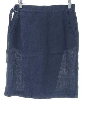Bensimon Wikkelrok blauw casual uitstraling