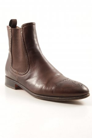 Benson's Chelsea Boots brown casual look