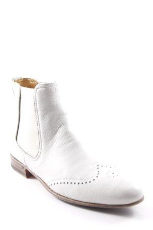 Benson's Botines estilo vaquero beige claro-marrón estilo country