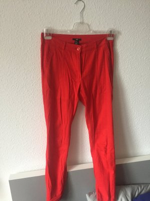 H&M Jegging rouge coton