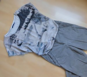 Tom Tailor 7/8 Length Trousers grey