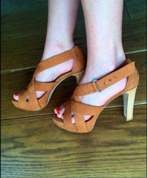 Laurèl High Heel Sandal multicolored leather