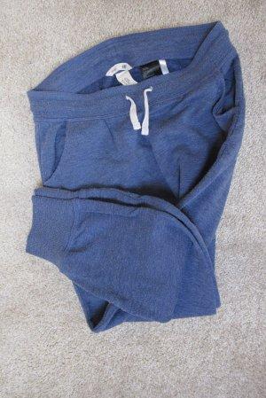 Bequeme, blaue, basic Jogginghose