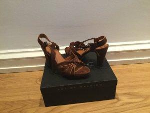 MARC High Heel Sandal brown suede