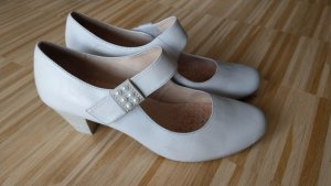 Caprice Strapped pumps oatmeal