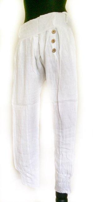 Dorothy Perkins Pantalón de lino blanco Lino