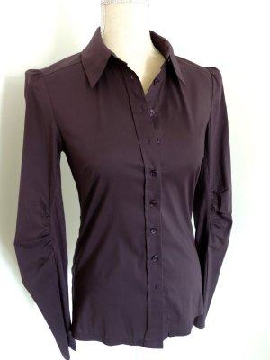 Bernd Berger Long Sleeve Blouse brown violet