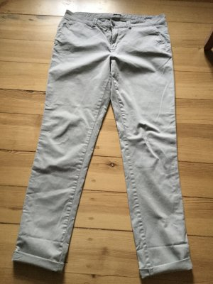 Esprit Chinos light grey cotton