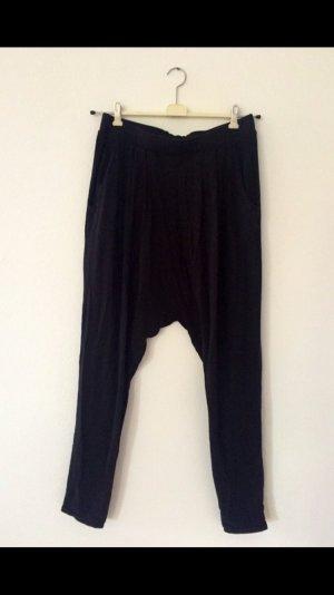 H&M Pantalón estilo Harem negro modal