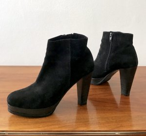 ◉ Bequeme hohe Plateau Ankle Boots / Stiefeletten ◉