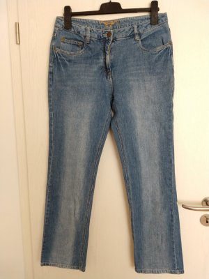 Blue Motion Straight Leg Jeans slate-gray-blue