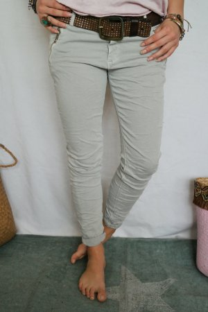 Bequeme Jeans Chino Jaggings in Grau passt Gr.L