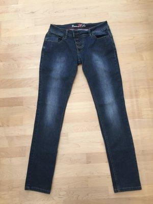 Buena Vista Stretch jeans blauw-donkerblauw