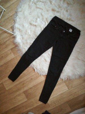 Bequeme Jeans Schwarz Gr. 28/34