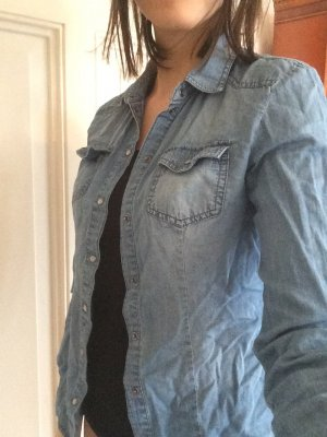 bequeme Jeansbluse