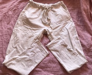 Pantalone fitness bianco